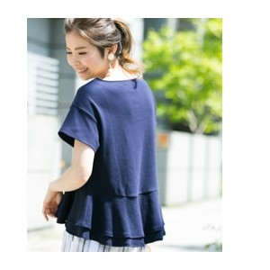 Sonny Label ペプラム半袖プルオーバー【アーバンリサーチ/URBAN RESEARCH Tシャツ・カットソー】