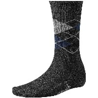 スマートウール メンズ インナー ソックス【Smartwool Diamond Jim Sock】Charcoal Heather / Deep Navy Heather
