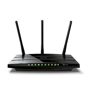 【TP-Link Archer C7 AC1750 Wireless Dual Band Gigabit Cable Router (2.4GHz 450M 5GHz 1300M 2 USB...