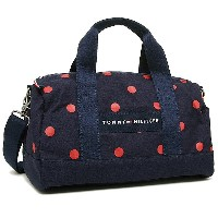 トミーヒルフィガー バッグ TOMMY HILFIGER 6930059 610 CORE PLUS MINI DUFFLE BICOLOR DOT ショルダーバッグ NAVY/RED...