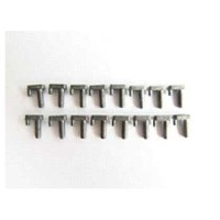 MatoToys Tiger1用メタルバックルセット(1/16 Tiger tank metal buckle(small, 16pcs))MT065