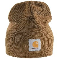 カーハート メンズ 帽子 ハット【Carhartt Acrylic Knit Hat】Carhartt Brown