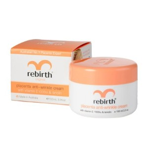 [Rebirth] Rebirth anti-wrinkle cream 100ml リバースしわケア胎盤クリーム (Placenta&VitaminE)
