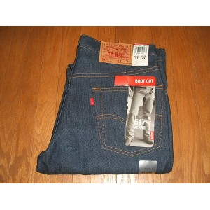 LEVIS(リーバイス) 517 ブーツカット Lot 517-0217 2000年代前期 MADE IN USA(アメリカ製) 実物デッドストック W31×L34