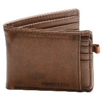 ロンドンフォグ London Fog メンズ アクセサリー 財布【Passcase Wallet with Removable ID Card Case 】Brown