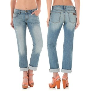 ラングラー Wrangler レディース ボトムス ジーンズ【Rock 47 Boyfriend Fit Jeans - Mid Rise, Straight Leg 】Kd Wash