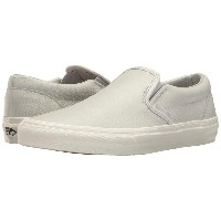 ヴァンズ Vans メンズ シューズ・靴 スニーカー【Classic Slip-On】(Embossed Leather) Glacier Gray/Blanc de Blanc