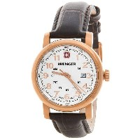 ウェンガー Wenger レディース アクセサリー 腕時計【Urban Classic Analog 34mm Watch - Leather Strap 】White/Brown