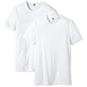 (ジースター ロゥ)G-Star Raw Base R t s/s Tシャツ2pack 8754-124-110 110 白 M
