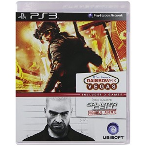 Splinter Cell: Double agent+Rainbow Six:Vegas (輸入版)