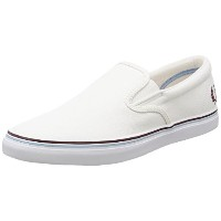 [フレッドペリー] スリッポン Underspin Slip On Canvas B1142 100 100WHITE JP 270(27cm)