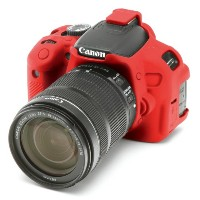 DISCOVERED イージーカバー Canon EOS KISS X6i &X7i 用 液晶保護フィルム付 レッド X6i-RE