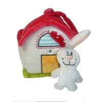 NICI my first nici ラビット+オウチ オルゴール 3033509