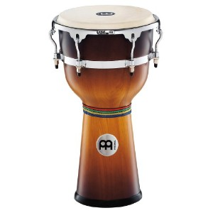 "MEINL Percussion マイネル ジャンベ Floatune Series Wood Djembe 12"" Gold Amber Sunburst DJW3GAB-M 【国内正規品】"