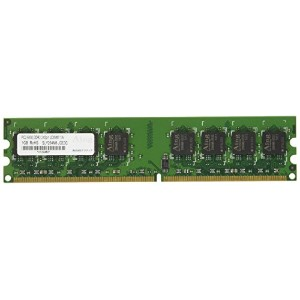 アドテック DDR2 800/PC2-6400 Unbuffered DIMM 1GB ADS6400D-1G