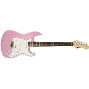 Squier エレキギター SQ BULLET w/TREM PINK