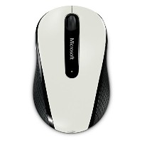 【Amazon.co.jp限定】マイクロソフト ワイヤレス ブルートラック マウス Wireless Mobile Mouse 4000 サテン ホワイト D5D-00015