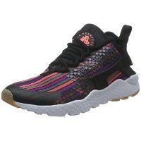 [ナイキ] スニーカー W AIR HUARACHE RN ULTRA JCD PR 885019-001 885019-001 BLACK/HOT LAVA-GM YLLW-WHITE 24.5