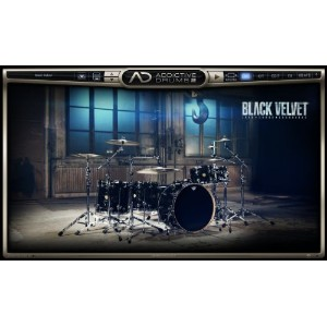 XLN Audio Black Velvet Addictive Drums 2 専用拡張音源