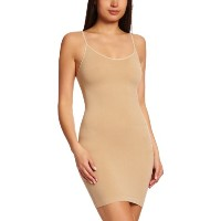 MAGIC BODYFASHION シームレスボディドレス Seamless BodyDress 1553 camel L