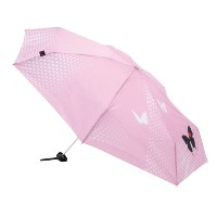 Knirps 折りたたみ傘 コンパクト 女性向け 【正規輸入品】 Piccolo 7 LIMITED 【限定カラー】 Butterfiy (Pink) KNAL868-266