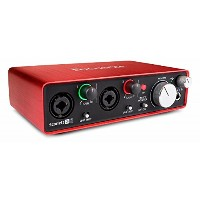 Focusrite Scarlett 2i2 G2 2in 2out 24bit 192kHz オーディオインターフェイス