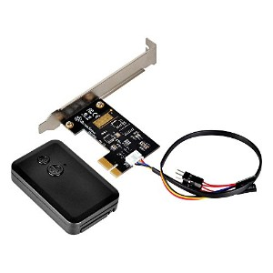 SilverStone 2.4GHzワイヤレス POWER/Resetリモートスイッチ PCI-Express x1接続 Lowprofile対応 SST-ES01-PCIe 日本正規代理店品