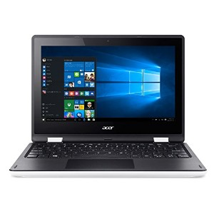 Acer ノートパソコン AspireR11 R3-131T-F14D/WF(ホワイト) Windows10/Celeron/11.6インチ4GB/500GB/Microsoft Office搭載