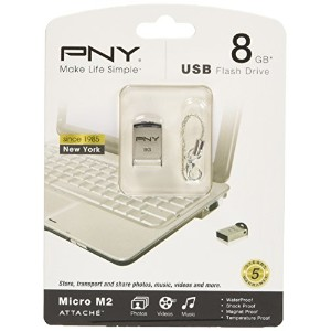 PNY USBメモリー PNY Micro M2 Attache 8GB UFDPM2-8G