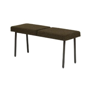 journal standard Furniture REGENT BENCH KHAKI 100cm