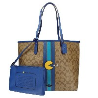 COACH OUTLET コーチ アウトレット トートバッグ F57277 QBDS7 パックマン coc