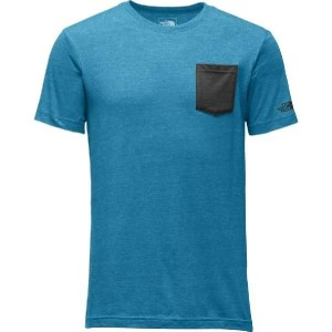 (取寄)ノースフェイス メンズ Tri-Blendポケット Tシャツ The North Face Men's Tri-Blend Pocket T-Shirt Blue Moon Heather...