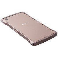 Deff ディーフ Cleave クリーブ アルミニウムバンパー Chrono クロノ Xperia Z3 コッパ― Copper DCB-XZ3A6CO/A