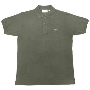FRANCE LACOSTE(直輸入フランスラコステ) #L1212 S/S PIQUE POLOSHIRTS(半袖 鹿の子 ポロシャツ) ARMEE(ARMY)(02C)