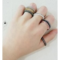 【NECESSARY or UNNECESSARY】BUTTON RING【フーズフーギャラリー/WHO'S WHO gallery リング】