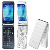 SAMSUNG Galaxy Folder Phone LTE SM-G150 / KeyPad & TouchScreen / Wifi + LTE Free Smart Folder Phone...