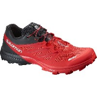 (取寄)サロモン S ランニングシューズ Salomon Men's S Running Shoe Racing Red/Black/White