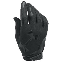 アンダーアーマー メンズ アメフト グローブ【Under Armour Sizzle Football Gloves】Black/Black/Black