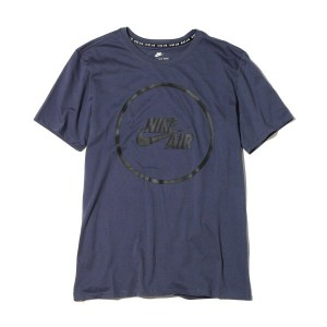 NIKE AS M NK AIR TEE LOGO(ナイキ エア ロゴ Tシャツ)THUNDER BLUE/BLACK【メンズ Tシャツ】17FA-I