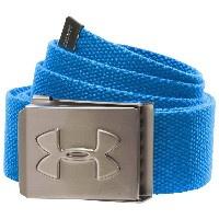 アンダーアーマー メンズ ゴルフ ベルト【Under Armour Webbing Golf Belt】Blue Jet/Graphite