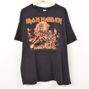 DELTA PRO WEIGHT IRON MAIDEN アイアン メイデン Hallowed Be Thy Name バンドTシャツ メンズ2XL /wah3949 【中古】 【170623】