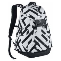 Nike Hoops Elite Max Air Graphic Backpackメンズ White/Black/Metallic Silver ナイキ バックパック リュックサック