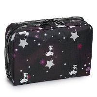 (レスポートサック) LeSportsac コスメポーチ 7121 G083/SNOOPY IN THE STARS ポーチ EXTRA LARGE RECTANGULAR COSMETIC...