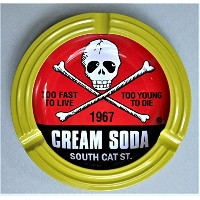 ☆CREAM SODA 50th 角ドクロ 灰皿 ☆ クリームソーダ PINK DRAGON JIMMY'S DREAM