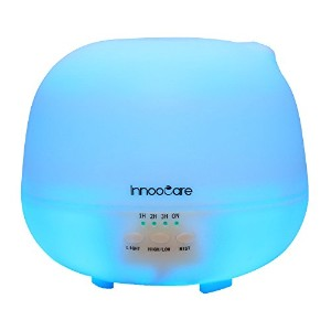 500 Milliliter Essential Oil Diffuser, InnooCare Ultrasonic Cool Mist Humidifier, 4 Timer Setting...