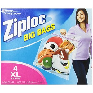 Johnson S C Inc65644Ziploc Big Storage Bag-XL ZIPLOC BIG BAGS (並行輸入品)