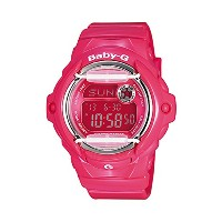 Casio Baby-G Ladies Watch in Pink Resin BG169R-4B【並行輸入】