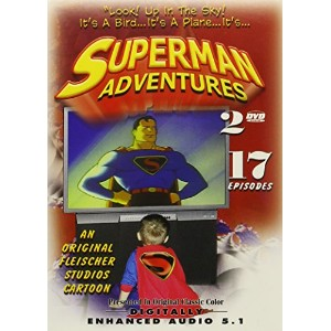 """Superman Adventures: """"Look! Up in the Sky! It's a Bird...It's a Plane... It's Superman!"""""""