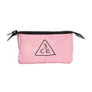 3CE (3 CONCEPT EYES) 正規品 コスメポーチ 3CE PINK RUMOUR POUCH (スモール)