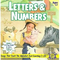 Letters and Numbers Cd Rom and Activity Book (輸入版)